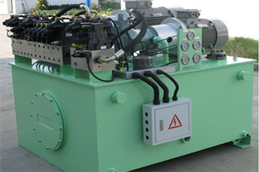 customized hydraulic station